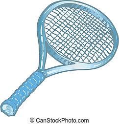 lárma, tenisz, ezüst, ábra