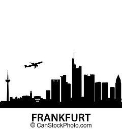 láthatár, legfontosabb, frankfurt