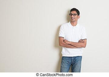 látszó indiai férfi)