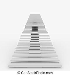 lépcsőház, tető