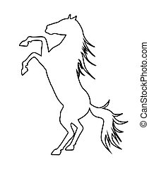 ló, árnykép