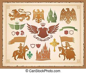 ló, címertani, állhatatos, nevezetességek