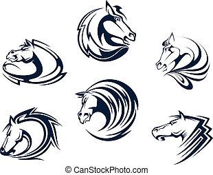 ló, emblémák, szerencsetárgy