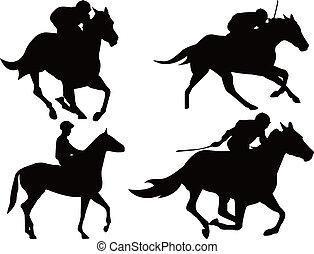 ló fut, játék