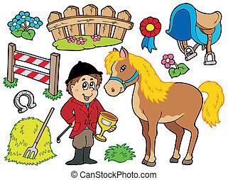 ló, gyűjtés