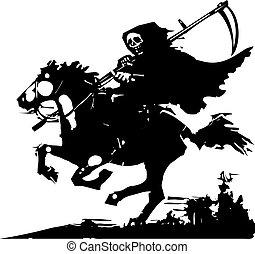 ló, halál