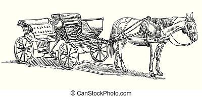 ló, kocsi