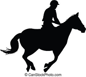 ló, lovaglási, lovas