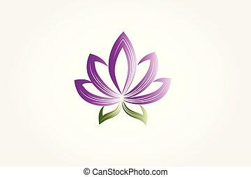 lótusz, jel, virág, ügy