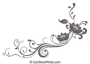 lótusz, motívum, virág