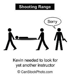 lőtávolság, lövés