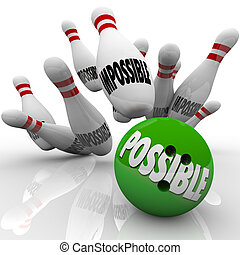 labda, gól, lehetséges, ütés, tekézés tekebábu, lehetetlen, befejezés