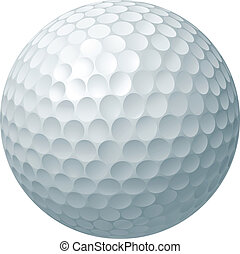 labda, golf, ábra