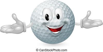 labda, golf, kabala