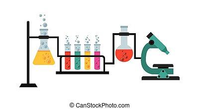 laboratórium, tudományos
