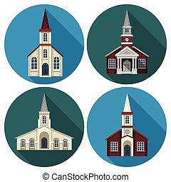 lakás, állhatatos, templom