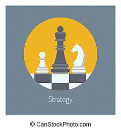 lakás, ügy ábra, stratégia