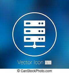lakás, computer rendszer, ábra, ministráns, vektor, ikon