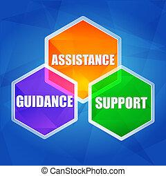 lakás, eltart, segítség, tanácsadás, hatszögek, tervezés