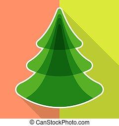 lakás, fa, karácsony