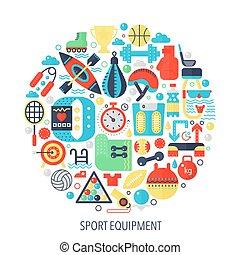 lakás, fogalom icons, szín, infographics, -, embléma, ábra, felszerelés, fedő, állóképesség, karika, sport, template.