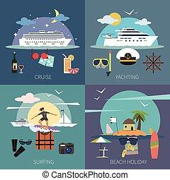lakás, hajó, állhatatos