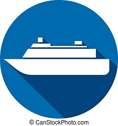 lakás, hajó, ikon