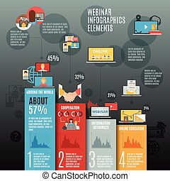 lakás, infographic, alaprajz, webinar