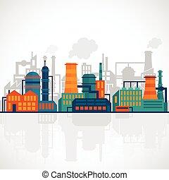 lakás, iparág, háttér