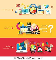 lakás, marketing, stratégia, tervezés, digitális, vezetőség