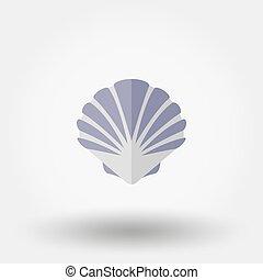 lakás, shell., icon.