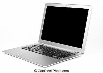 laptop, levegő