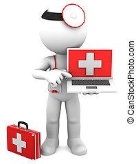 laptop, medikus