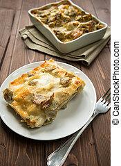 lasagna, articsóka