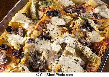 lasagna, lábas