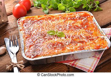 lasagne, bolognese