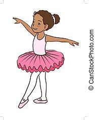 leány, balerina