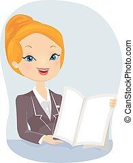 leány, bemutatás, biztosítási ügynök
