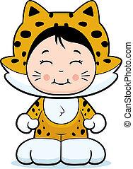 leány, jaguár