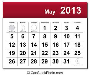 lehet, naptár, 2013