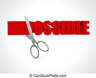 lehetetlen, lehetséges, elvág, fogalom