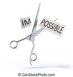 lehetetlen, lehetséges, lesz