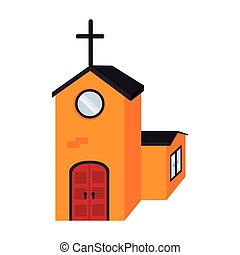lelki, vallásos, elszigetelt, templom