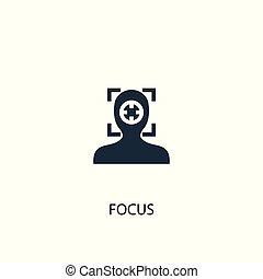 lenni, fogalom, illustration., háló, egyszerű, jelkép, összpontosít, elem, használt, konzerv, icon., mobile., design.