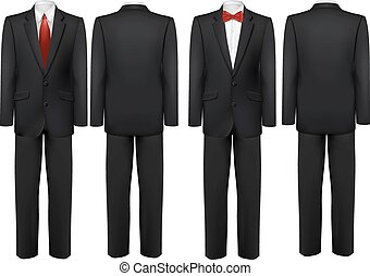 lepke, tie., ing, fekete, vector., illeszt, fehér