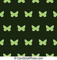 lepke, zöld háttér