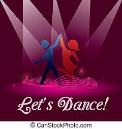 lets, táncol
