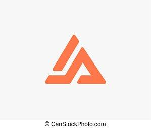 levél, abc, jel, állhatatos, ikon