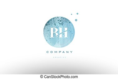 levél h, vízfestmény, jel, grunge, abc, bh, szüret, b betű
