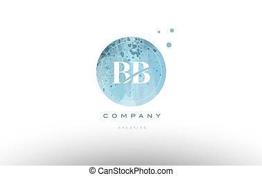 levél, vízfestmény, jel, grunge, bb, abc, szüret, b betű